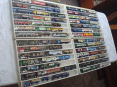 Collection - brewery trucks, advertising trucks, a few oldtimer  trucks and rarities, in collector boxes, 81 items - 1995/2005