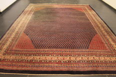 Magnificent hand-knotted Persian carpet, Sarough Mir, 293 x 370 cm, made in Iran, best highland wool