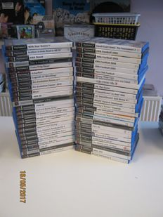 50 originele Ps2 games.