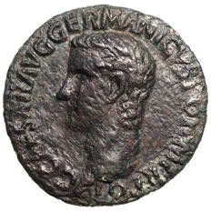 Roman Empire – Caligula (37-41) As, Vesta