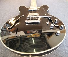 New Bach ES-335-model, Black for Jazz Blues Metal Rockabilly and more