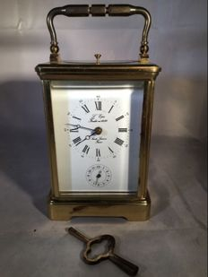 Large French travel clock - L'Epee - 2nd half 20th century