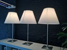 Paolo Rizzatto for Luceplan – 3 x lamp Costanza (large model up to approx. 116 cm h)