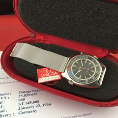 Ω Omega Seamaster Chronostop Ref. 145.008 -- Men's wristwatch  -- January 1968 Ω