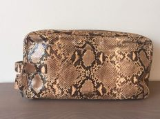 Prada - clutch bag made of exotic leather