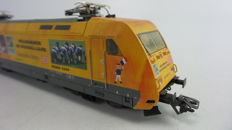 "Märklin H0 - 39370 - Electric locomotive BR 101 ""Hamburg"" of the DB, advertisement version Fifa World Cup Germany 2006"