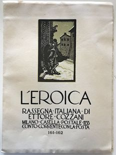 L'Eroica Issues no. 161 and 162 year 1932 of the Collection Fondo Ettore Cozzani