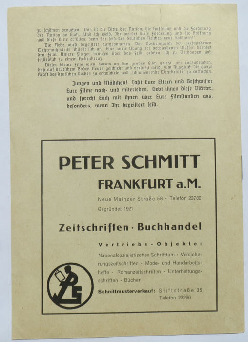 Hitlerjugend Lot With 5 Propaganda Publications For The