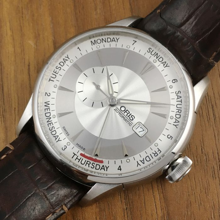 mens white watches second hand watches buy and sell in the uk oris small second pointer day xl 44mm men´s watch