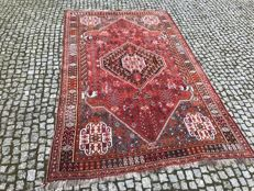 Old Persian  / Made in Iran Shiraz -hand knotted 273x165 cm