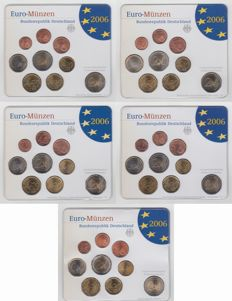 Germany – Year sets 2006A, D, F, G and J (5 different ones)