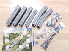 Roco H0 - 61123/61110/61140/61181/42608 - 44-piece lot with Geoline rails