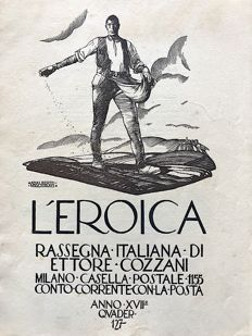 L'Eroica Issues no .127 1929 of the collection Fondo Ettore Cozzani
