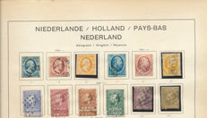 The Netherlands 1852/1945 – Collection on Old Album Sheets