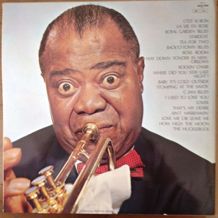 Lot of 9 LP Albums :5 X Louis Armstrong - Bud Freeman - Billy