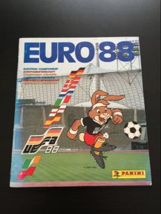 Panini-Euro 88 - International Edition - Complete album.