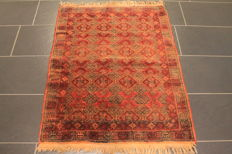 Hand-knotted Persian collector's carpet, Belutsch, rug, made in Afghanistan, 90 x 120 cm