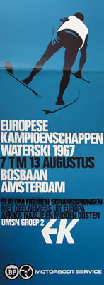 Anonymous - European Water skiing Championships - 1967