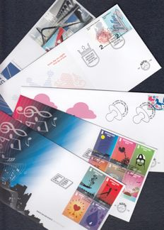 The Netherlands 2015 – Complete Year of FDCs – NVPH E706 up to and including E725