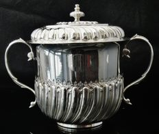 Silver Porringer, London 1922, Johnson, Walker & Tolhurst