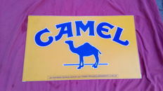 Camel advertising plate made of methacrylate - 20th century
