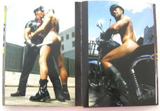 Gay interest; Lot with 3 photo books-2003/2008
