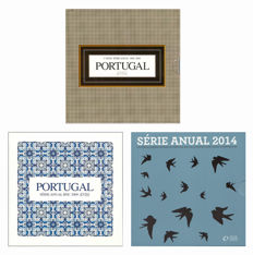 Portugal – Year sets 2008, 2009 and 2014 (3 different ones)