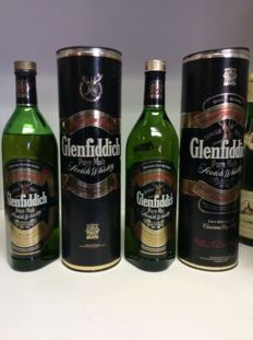 2 bottles - Glenfiddich Special Old Reserve Pure Malt Single Malt Scotch Whisky, Scotland, 2 x 1 ltr 43% Vol