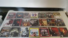 Great collection of 21 pcs. games for the Playstation 3 o.a Black Ops 2, Mafia 2, Resident Evil 5