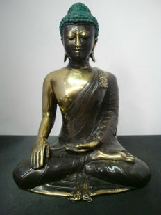 Bronze Buddha - Indonesia - late 20th century.