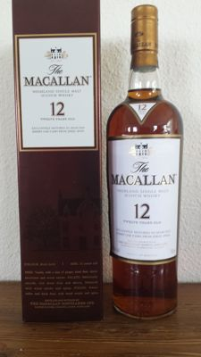 The Macallan 12 years old Sherry Oak - 750ml