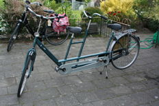 Van Raam Tandem with lock and 5 gears - 2000