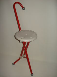 Ivan Loss – Ulise Design – Walking stick, stool