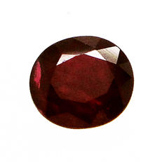 Red ruby – 1.07 ct – no reserve price