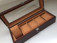 Very exclusive watch storage box for 5 (large) watches