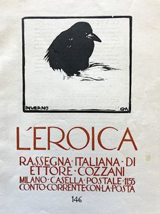 L'Eroica Issue n. 146 year 1930 of the Collection Fondo Ettore Cozzani