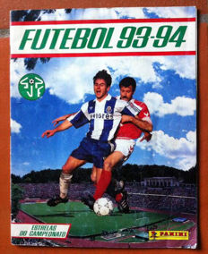 Panini - Portuguese football sticker album from 1993/94 - Full album.