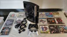 Complete Playstation 3 Phat - 40 GB /- including 2 controllers and 14 great games.