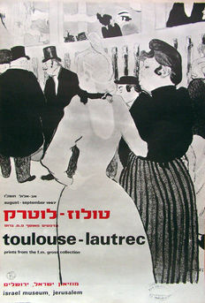 Toulouse Lautrec (after) - Prints from the F.M. Large collection - 1967
