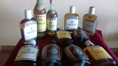6 flasks of Stock 84 & 3 flasks of Vecchia Romagna & 2 bottles of Stock 84 & Stock Brandy Medicinal
