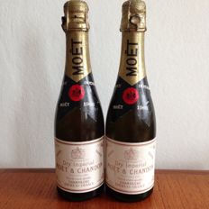 1966 Moët & Chandon Champagne Imperial - 2 half bottles
