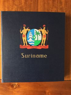 Suriname 1975/1990 – Collection in album