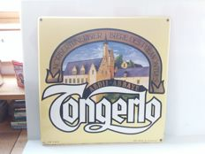 Tongerlo Norbertines beer - enamel sign from Belgium - 1991.