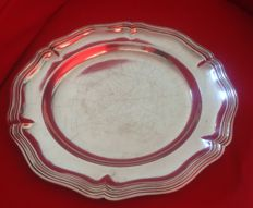 Silver plated dish, Christofle. The 50's
