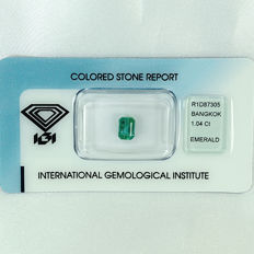 Emerald - 1.04 ct - no reserve price