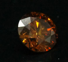 1.01 ct. Natural Fancy Deep Yellowish Orange - GIA Certified
