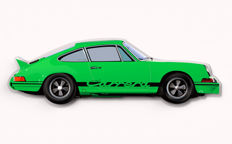 Halmo Collection Porsche 911 2.7 RS plexiglass model