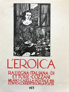 L'Eroica Issue n. 143 year 1930 of the collection Fondo Ettore Cozzani