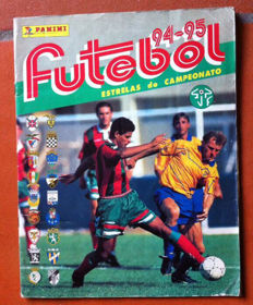 Panini - Portuguese football sticker album from 1994/95 - Full album.