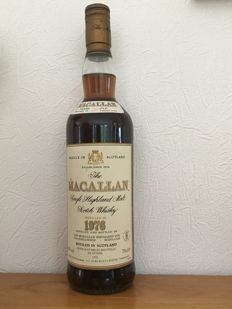 The Macallan 1976 18 years old - bottled 1995